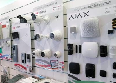 Alarm automatika Showroom
