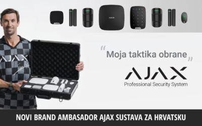 Darijo Srna je novi brand ambasador Ajax sustava