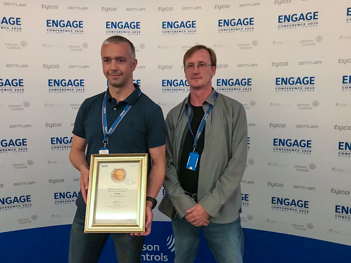 Tyco Conference Intrusion Award