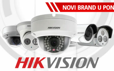 Hikvision novi brand u ponudi