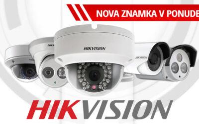 Hikvision nova znamka v ponudbi!