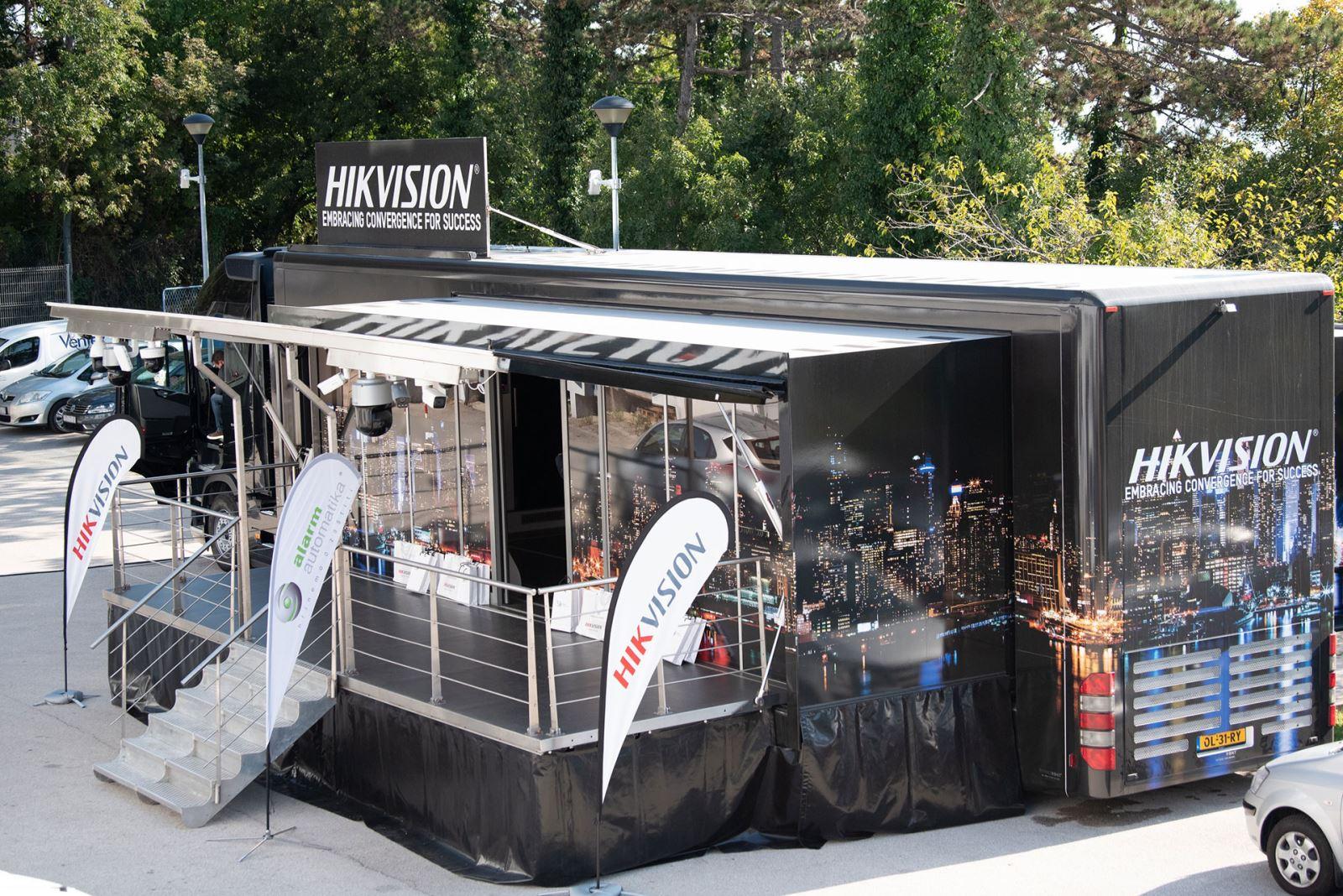 Hikvision roadshow