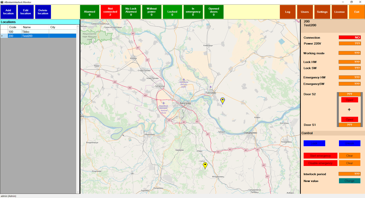 ABsistemInterlocking map